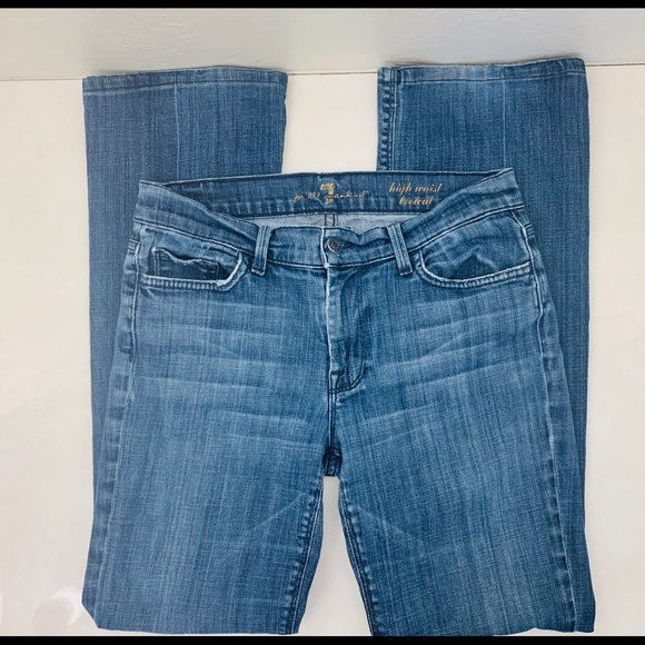 7 For All Mankind Denim - 7 For All Mankind jeans high waist bootcut 29x29